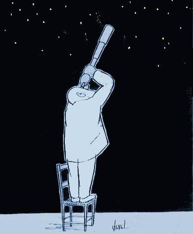humour d'astronome Chaval
