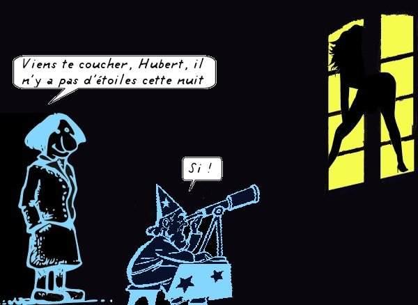 humour d'astronome Hubert