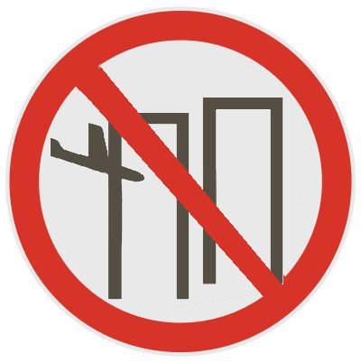 Listedepanneauxdinterdiction - C est interdit dans l avion ...