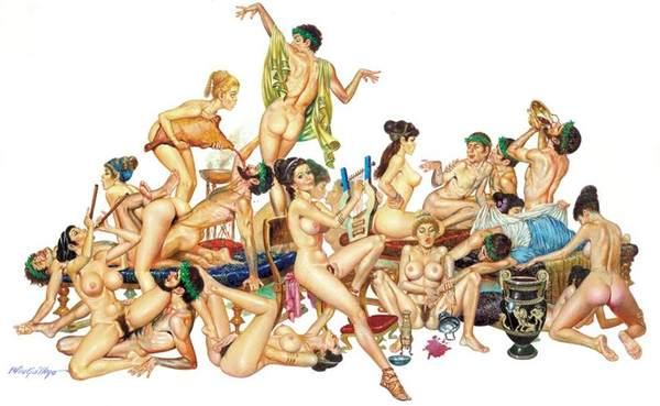 Rome orgie xxx gay anal porno